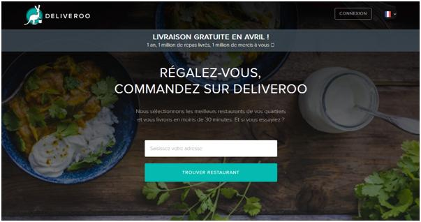 Copie Ecran Site Deliveroo